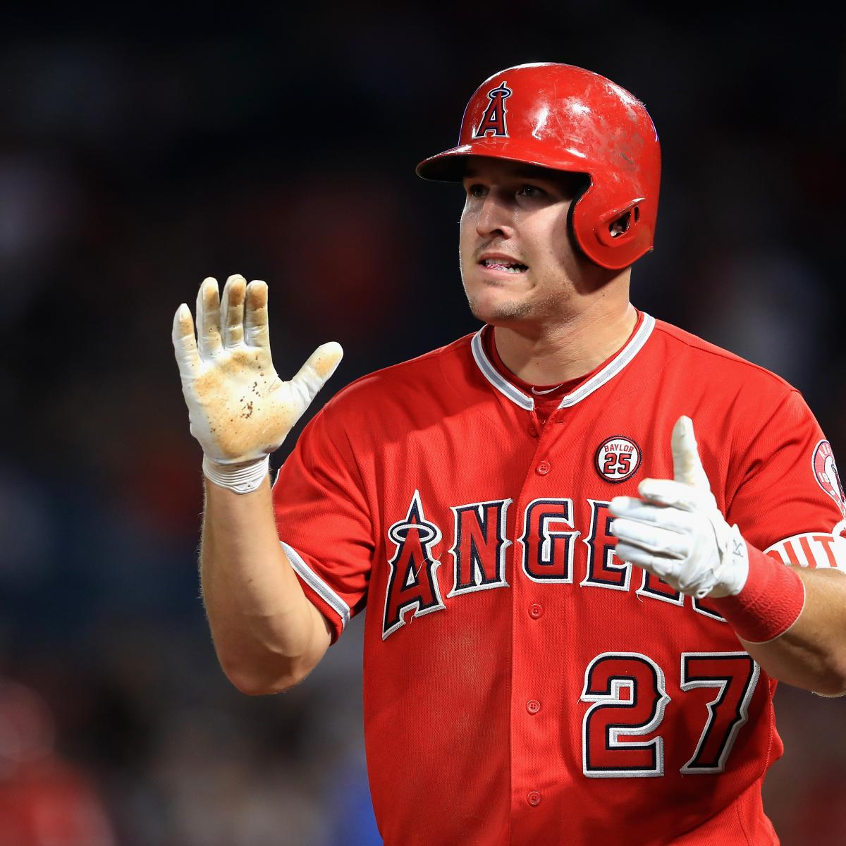 Mike Trout Breaks Los Angeles Angels Record For