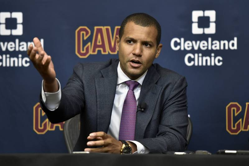 2536e85242f Cavaliers Considering Trading Nets  2018 1st-Round Pick