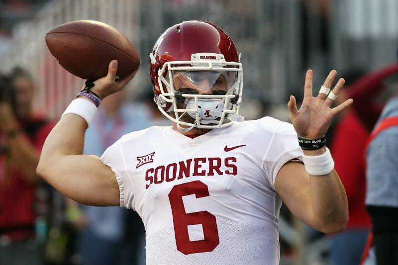 Image result for images of baker mayfield