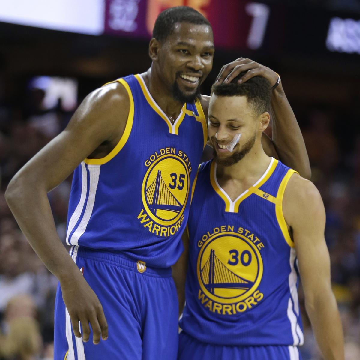 Warriors Come Out To Play Bleacher Report: Stephen Curry Responds To Kevin Durant's Comments On Under