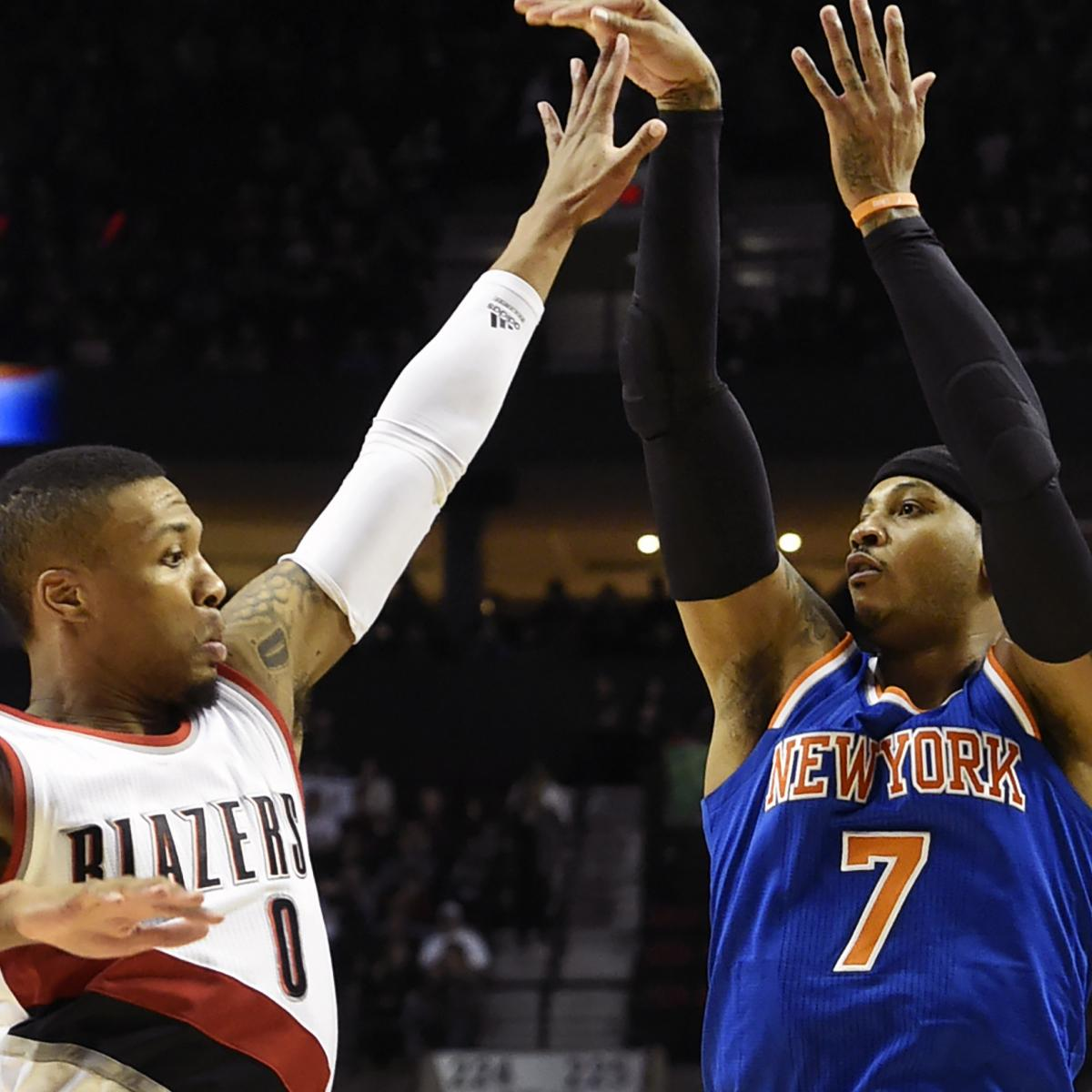 Damian Lillard: Carmelo Anthony 'Didn't Seem Opposed' To