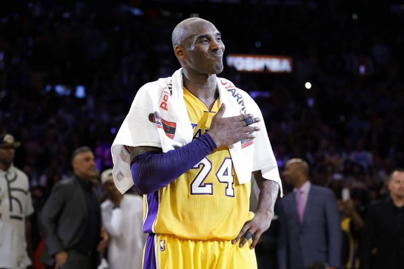 low priced 30012 f02f7 Kobe Bryant's No. 8, No. 24 Jerseys Both Will Be Retired by ...