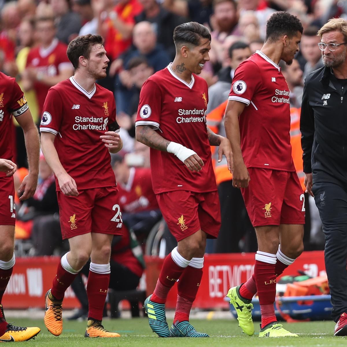 Live Streaming Soccer News Liverpool Vs Benfica Live: Liverpool Vs. Burnley FC: Team News, Preview, Live-Stream