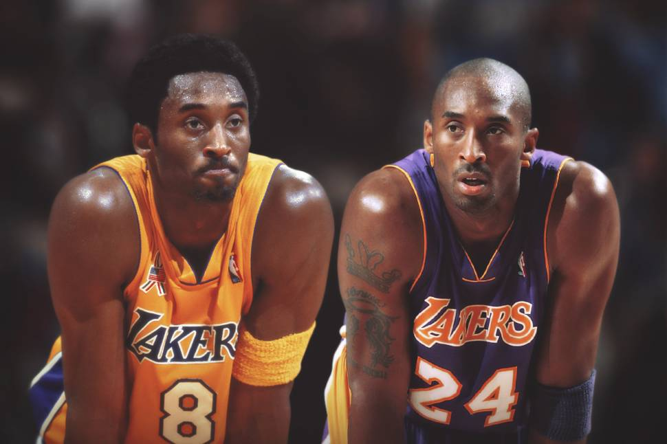 bac0aabebe8b Which Number Lakers Jersey Should Kobe Bryant Wear in His Statue — 8 or 24