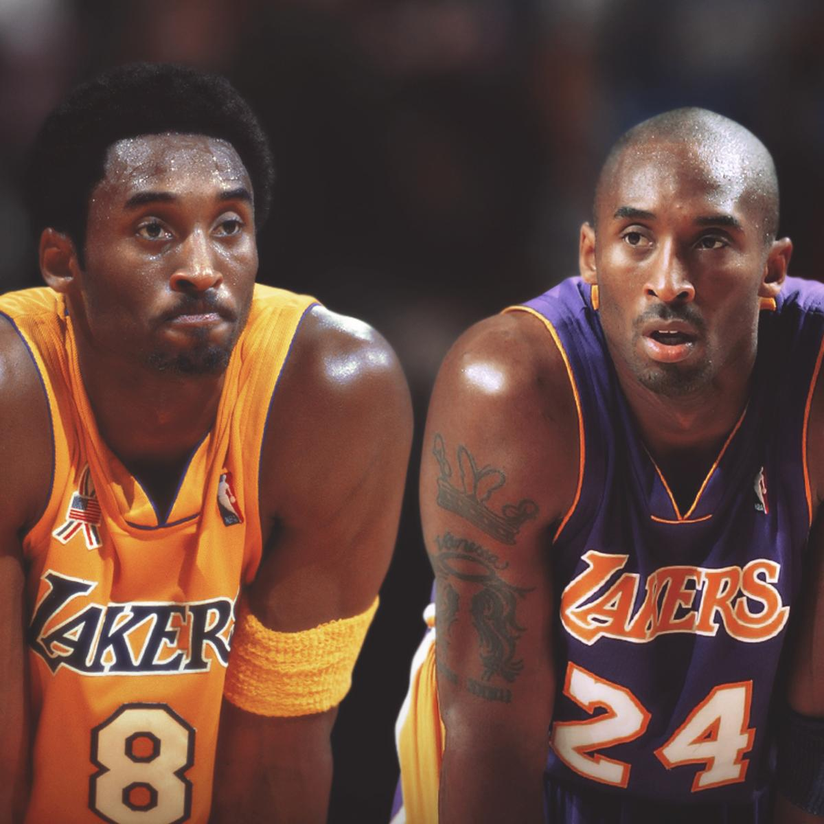 5368fec50fd Which Number Lakers Jersey Should Kobe Bryant Wear in His Statue — 8 or 24
