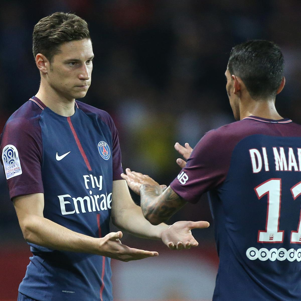 PSG Transfer News: Latest Julian Draxler, Angel Di Maria