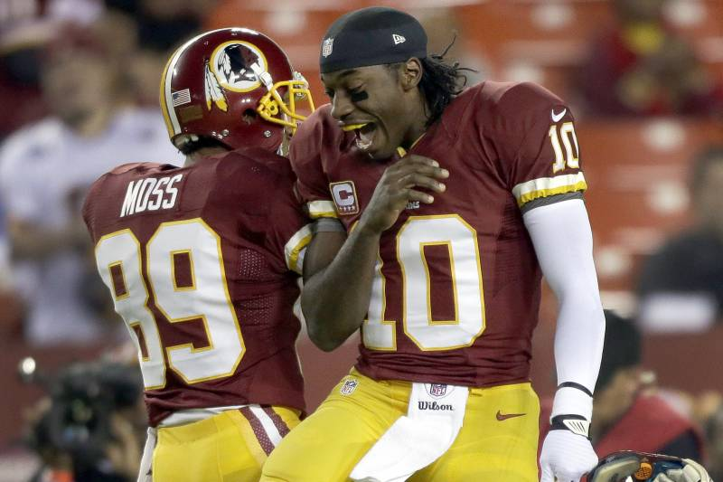 e912d5a6 Robert Griffin III Tweets About 'Betrayal' by Santana Moss, Says WR ...