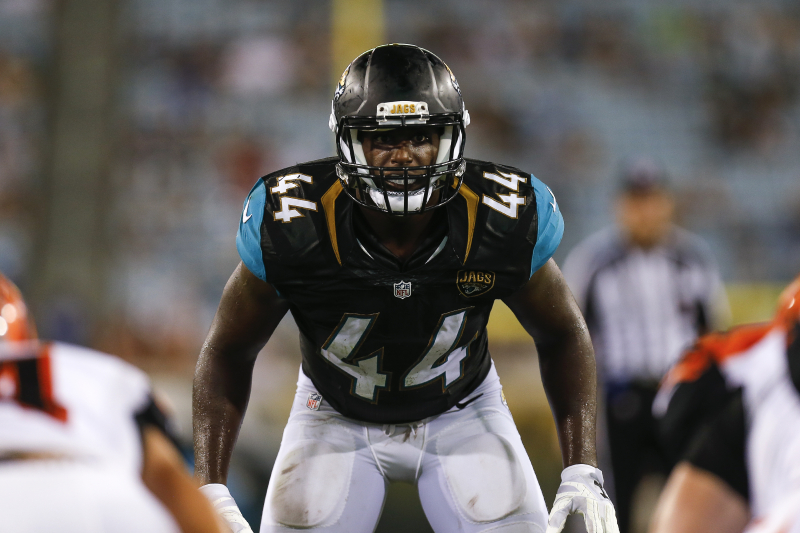 Jaguars' Myles Jack Ruled out vs. Titans After Suffering Concussion