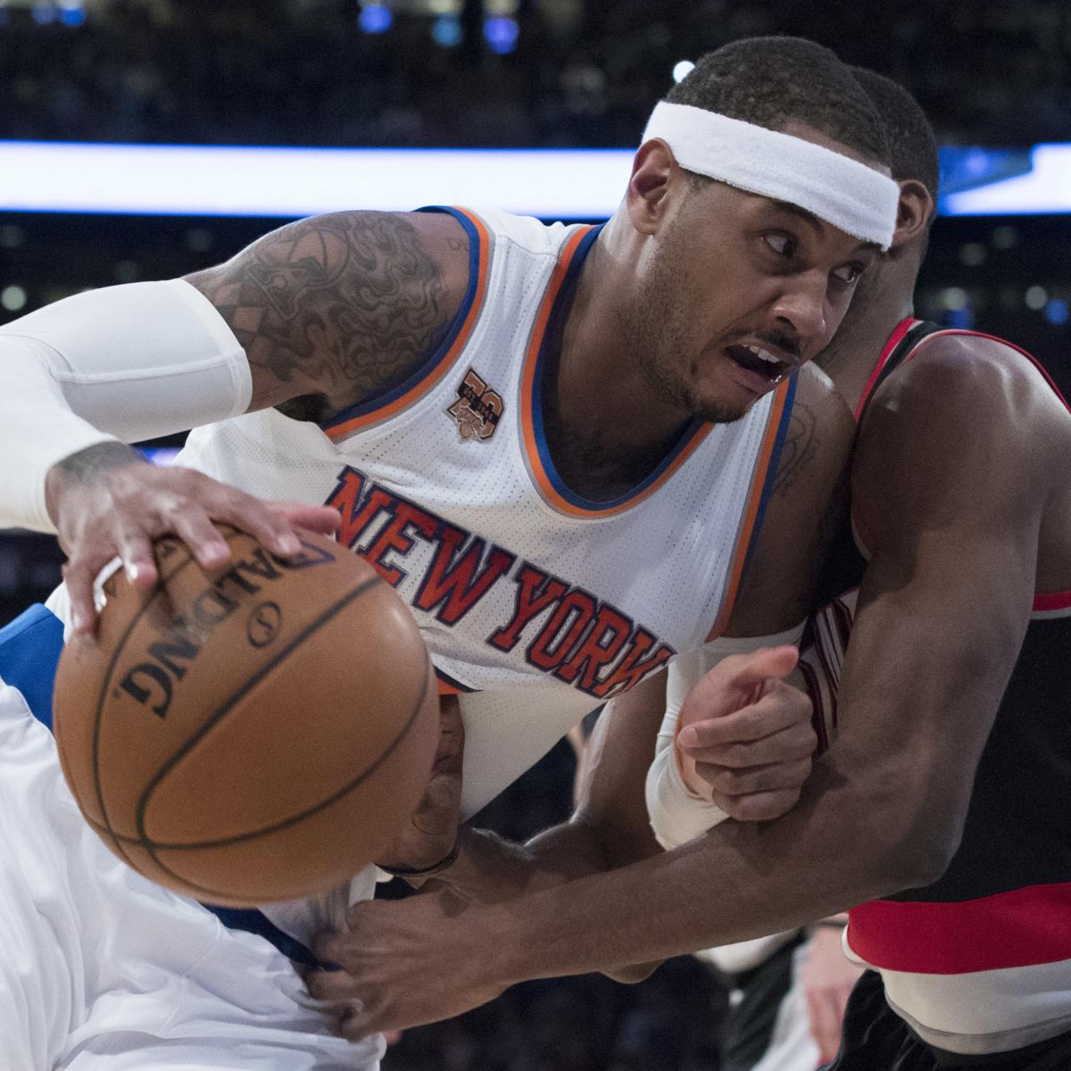 Carmelo Anthony, Knicks Reportedly Considering Trade Offer