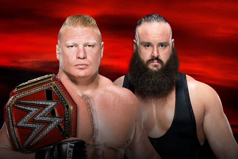Image result for No Mercy 2017 Lesnar vs strowman