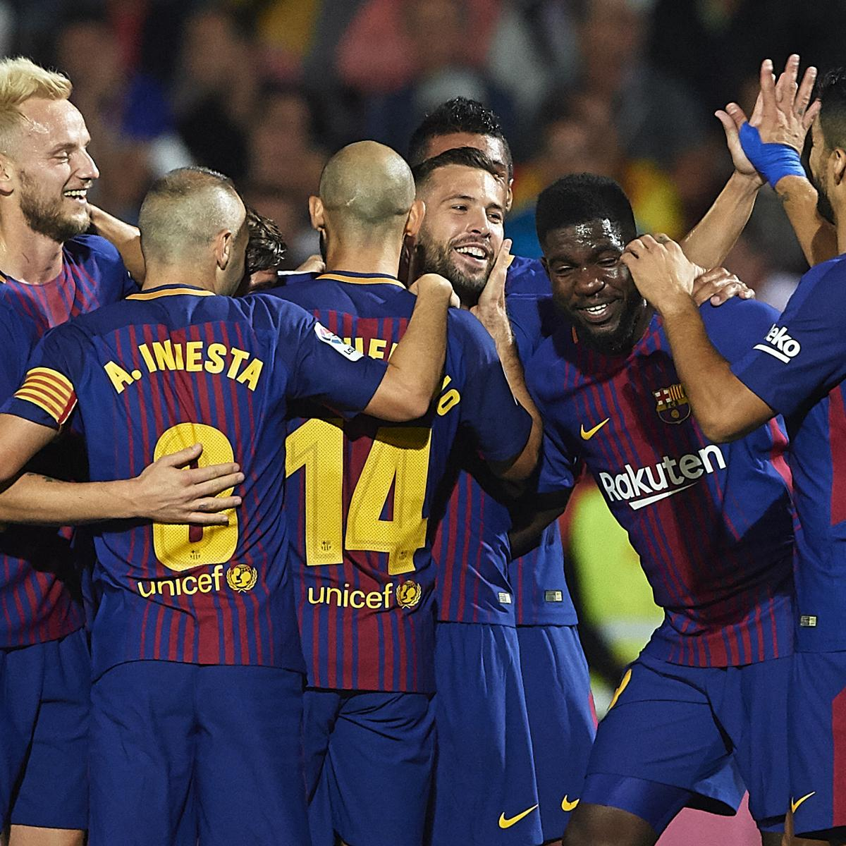 La liga results 2017 standings highlights after saturday - La liga latest results and table ...