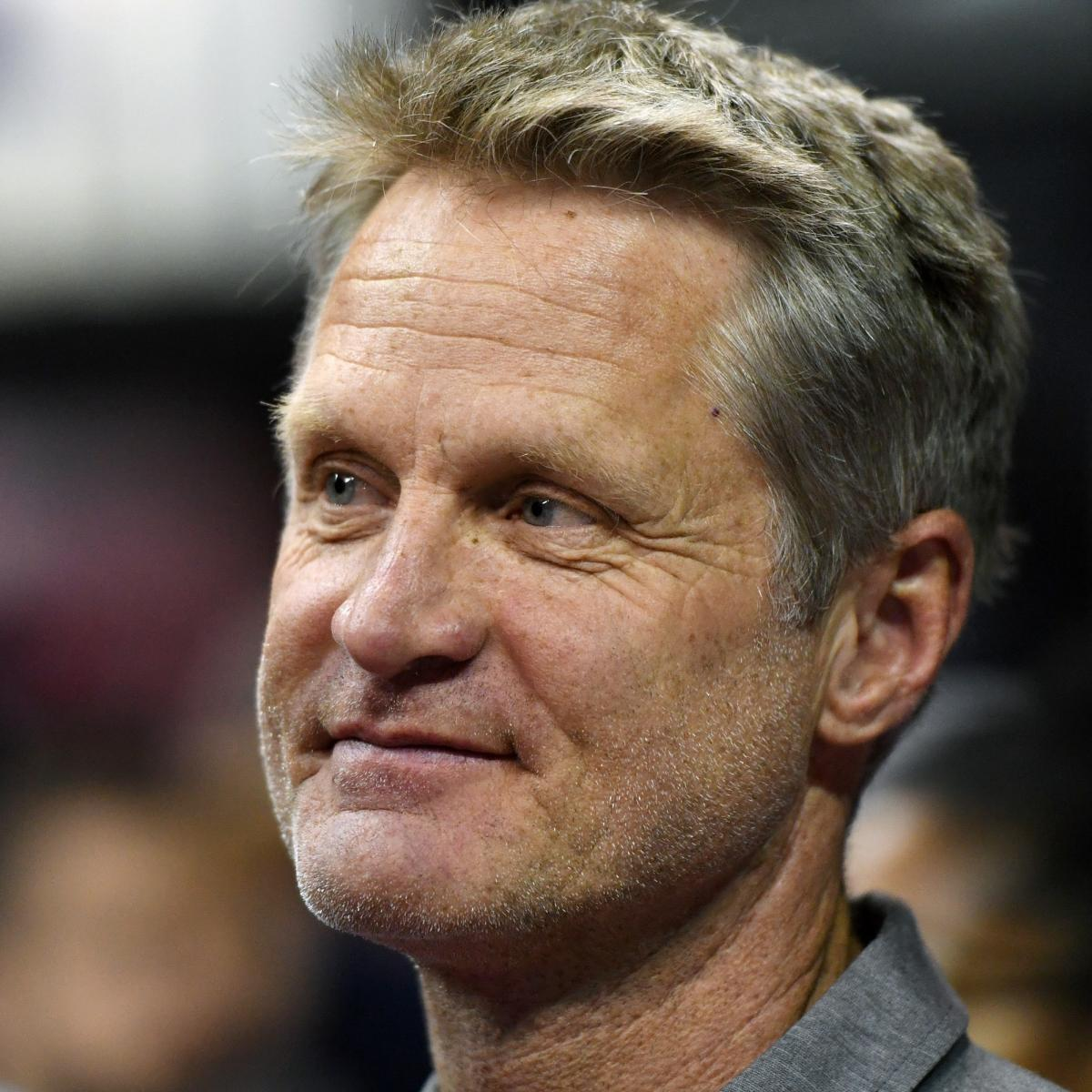 Steve Kerr Writes Article to Donald Trump, Says Protest Comments 'Crushed' Him