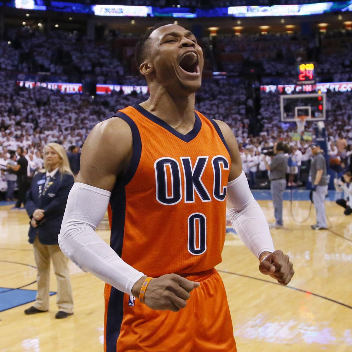 Russell Westbrook Won't Comment on Thunder Contract After ...