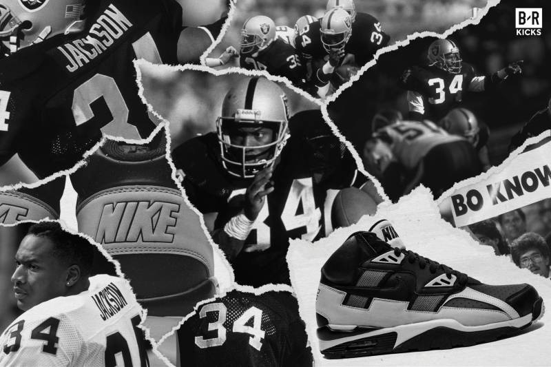 d05c5341d3d A Brief History of Bo Jackson s Legendary Nike Air Trainer SC High  Raiders