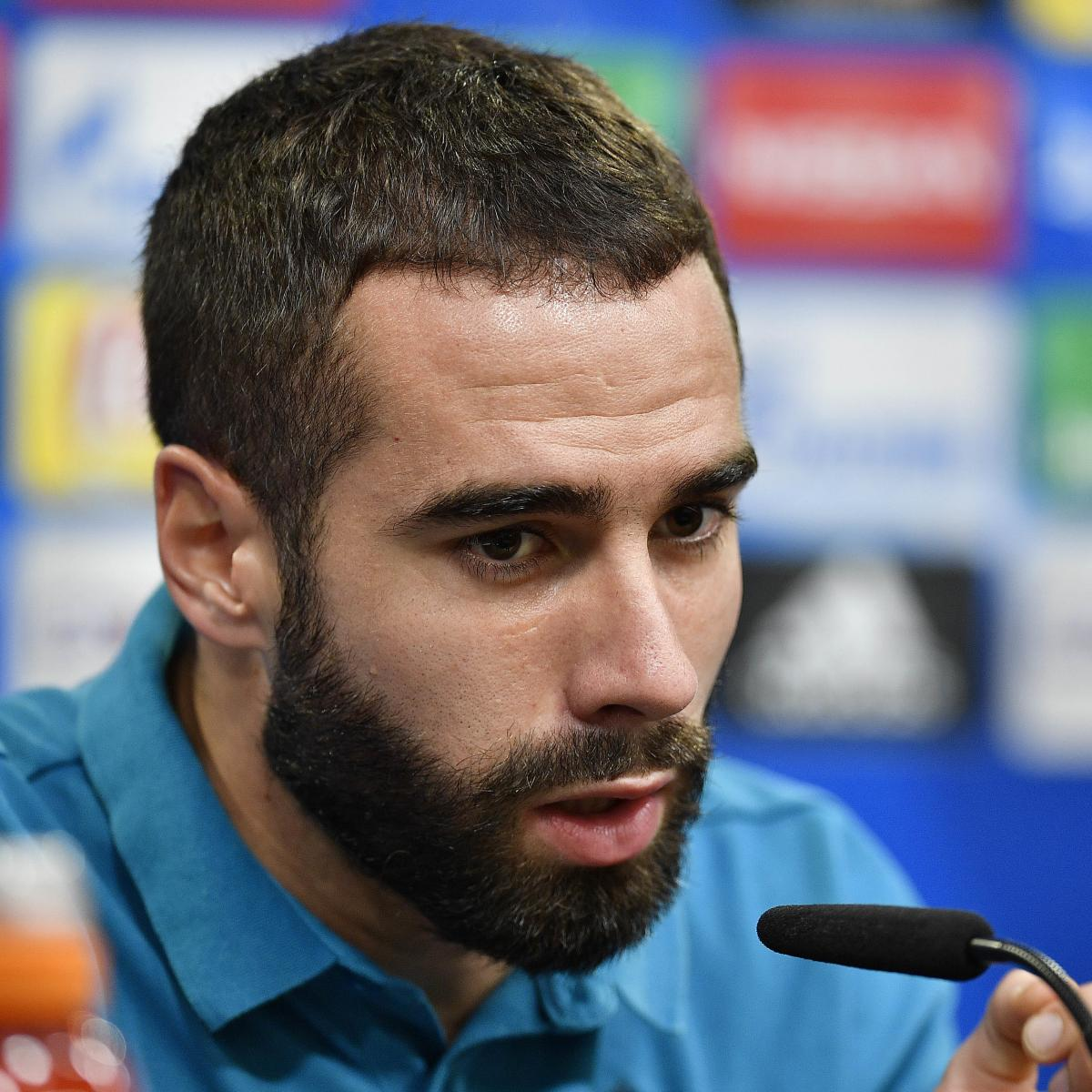 Dani Carvajal Out Indefinitely with Condition | Bleacher ... on juan francisco moreno fuertes, jonathan soriano casas, pablo gil, pablo sarabia,