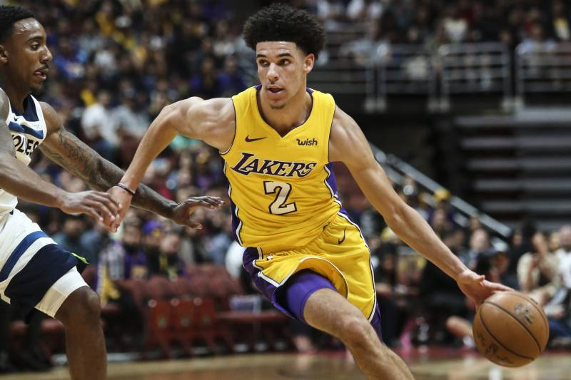 Image result for lonzo ball season stats