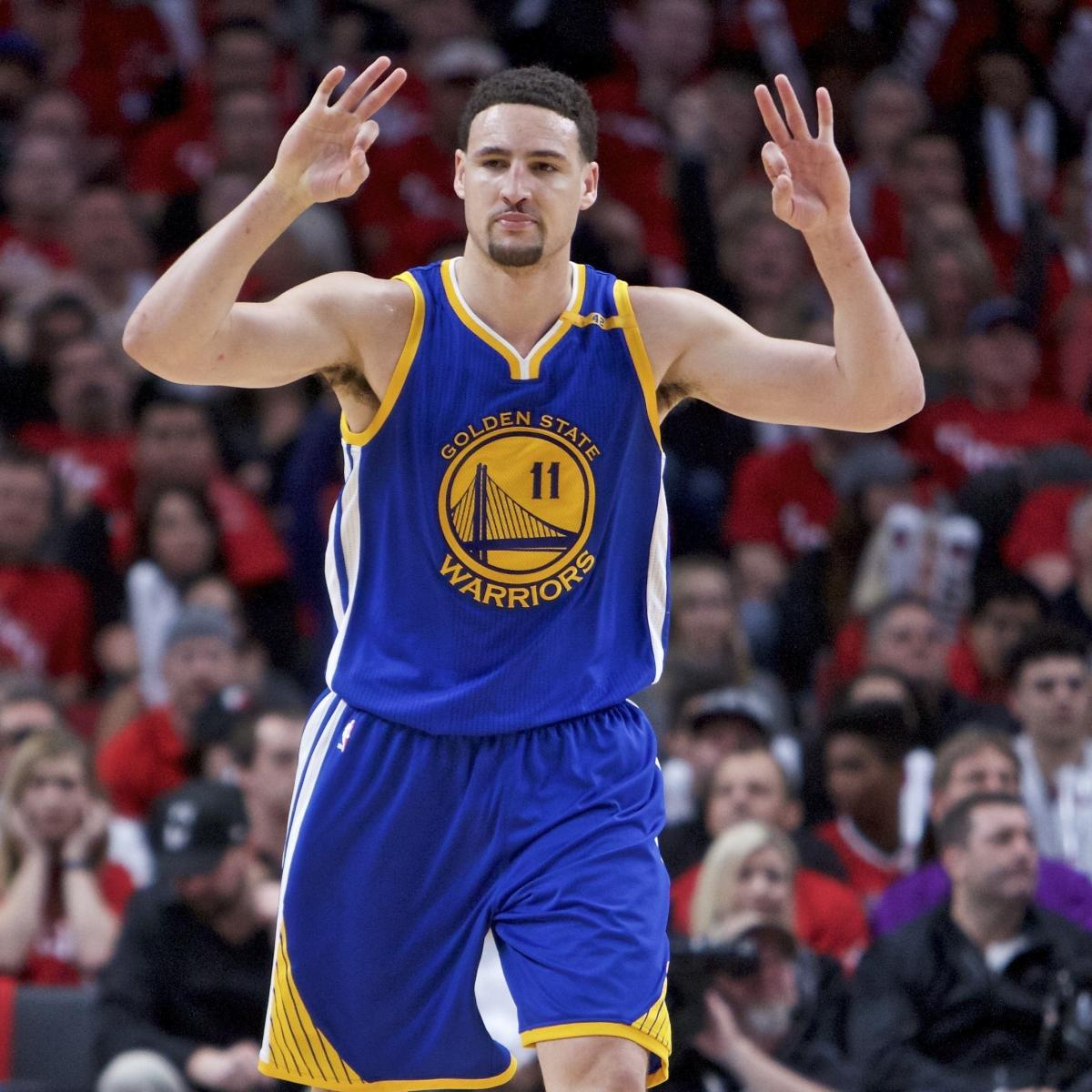 f1ed371b02fd Klay Thompson Says He d Consider Taking Discount with Next Warriors Contract