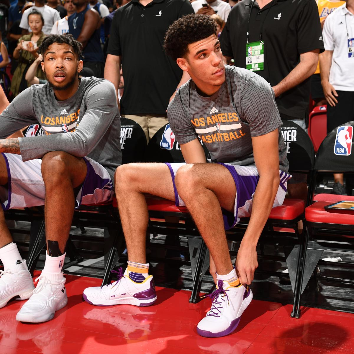 Lakers News: Latest on Lonzo Ball, Brandon Ingram's Injuries and Recoveries