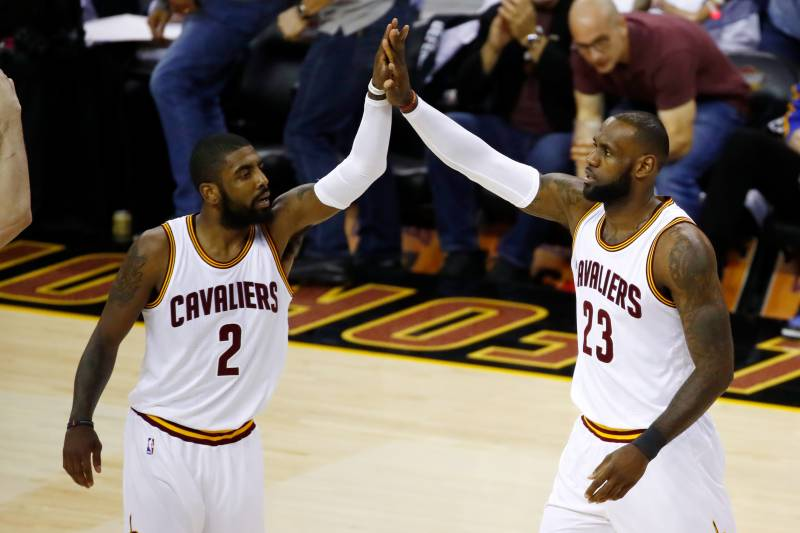 7e96752bdfb1 Kevin Love Comments on LeBron James Picking Kyrie Irving in All-Star ...