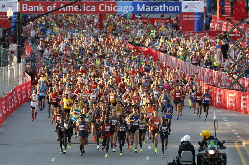 Chicago Marathon 2017: Route, Course Map, Times, Road Closures ... on