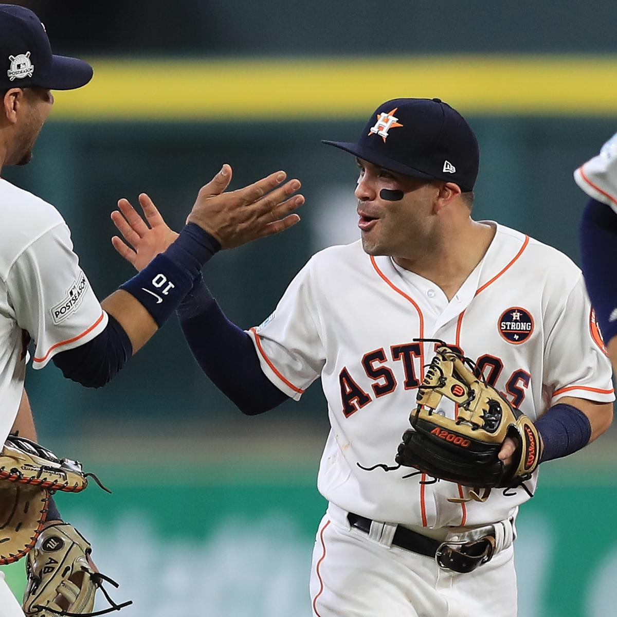 MLB playoff schedule 2018: Start times & TV info for ...