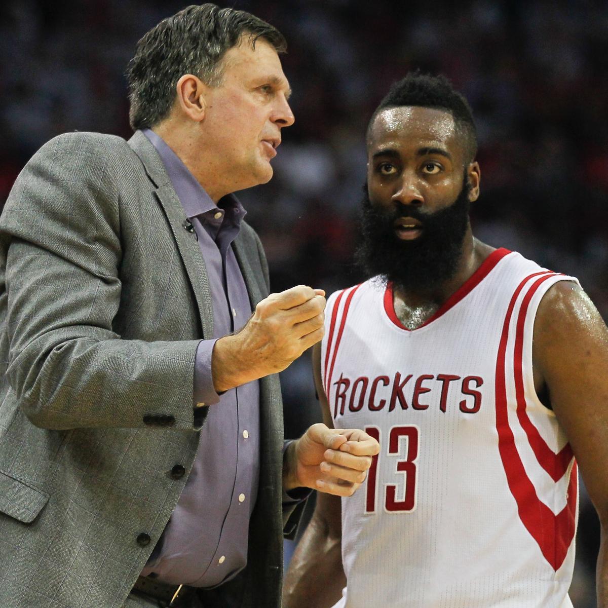 Houston Rockets Defensive Coach: Kevin McHale Says James Harden 'Not A Leader' For Rockets