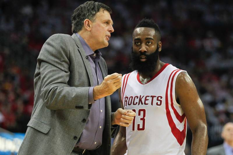 a07cb84ed487 Kevin McHale Says James Harden  Not a Leader  for Rockets