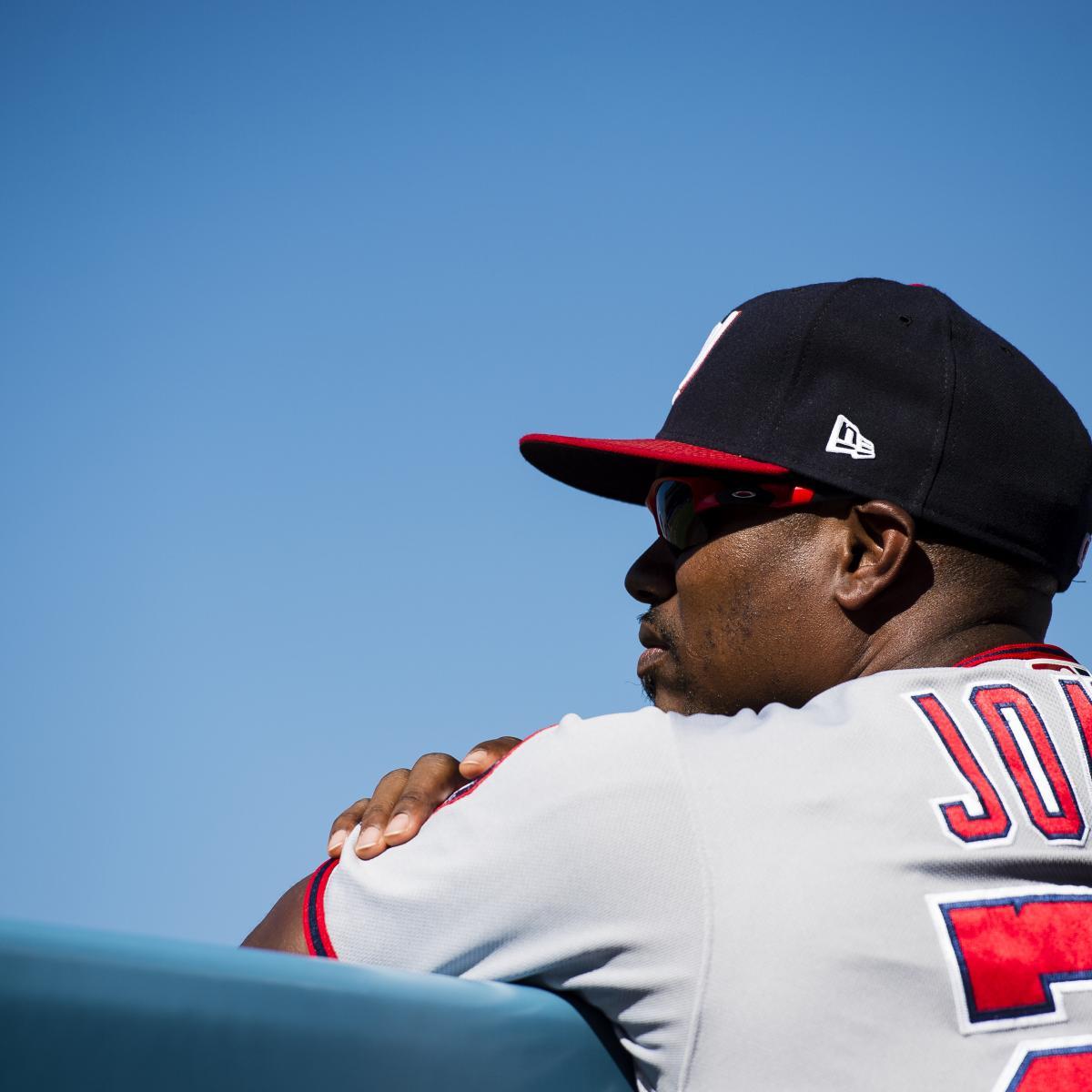 Jacque Jones suspended: Nationals assistant hitting coach