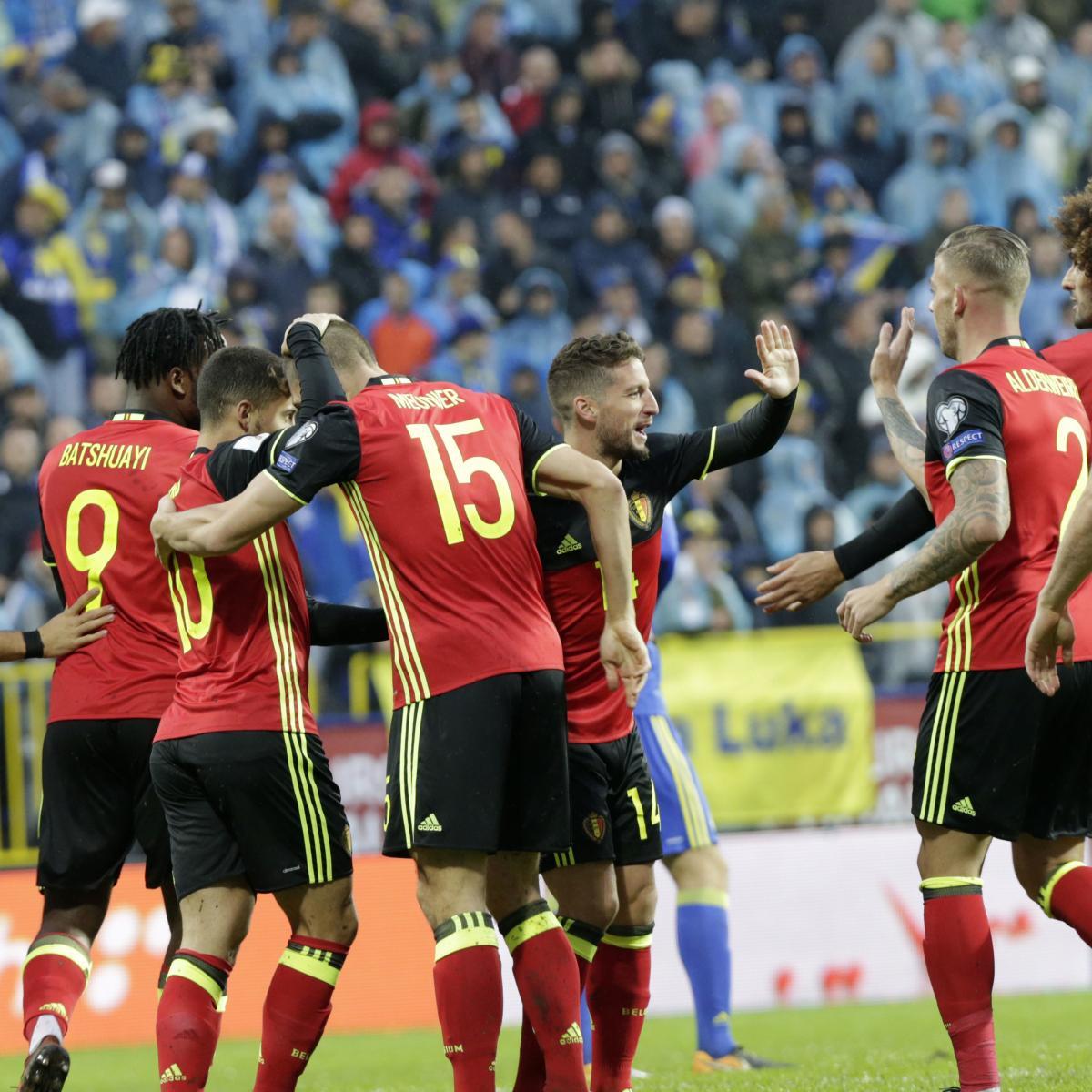 Belgium vs. Cyprus: World Cup 2018 Qualifying Live Stream