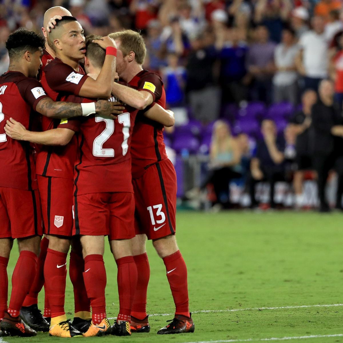 USA Vs. Trinidad & Tobago: World Cup 2018 Qualifying Live