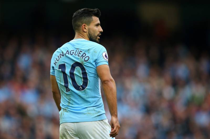 Image result for Sergio Aguero-Manchester City
