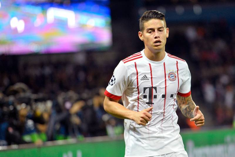 a2e6369a3 Bayern Munich Transfer News  James Rodriguez s Real Madrid Exit Rumours  Emerge