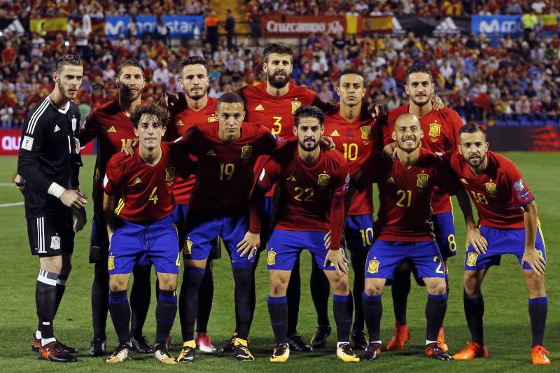 fec8f1e86 Picking Spain s 2018 World Cup Squad After End of Qualification ...