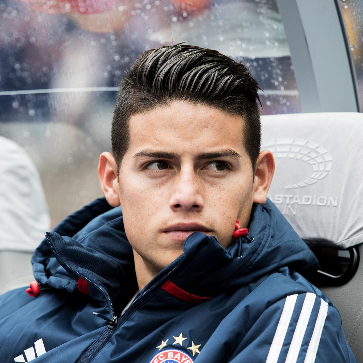 James Rodriguez Bayern Munich Future In Doubt Amid Talk Of Return To Real Madrid