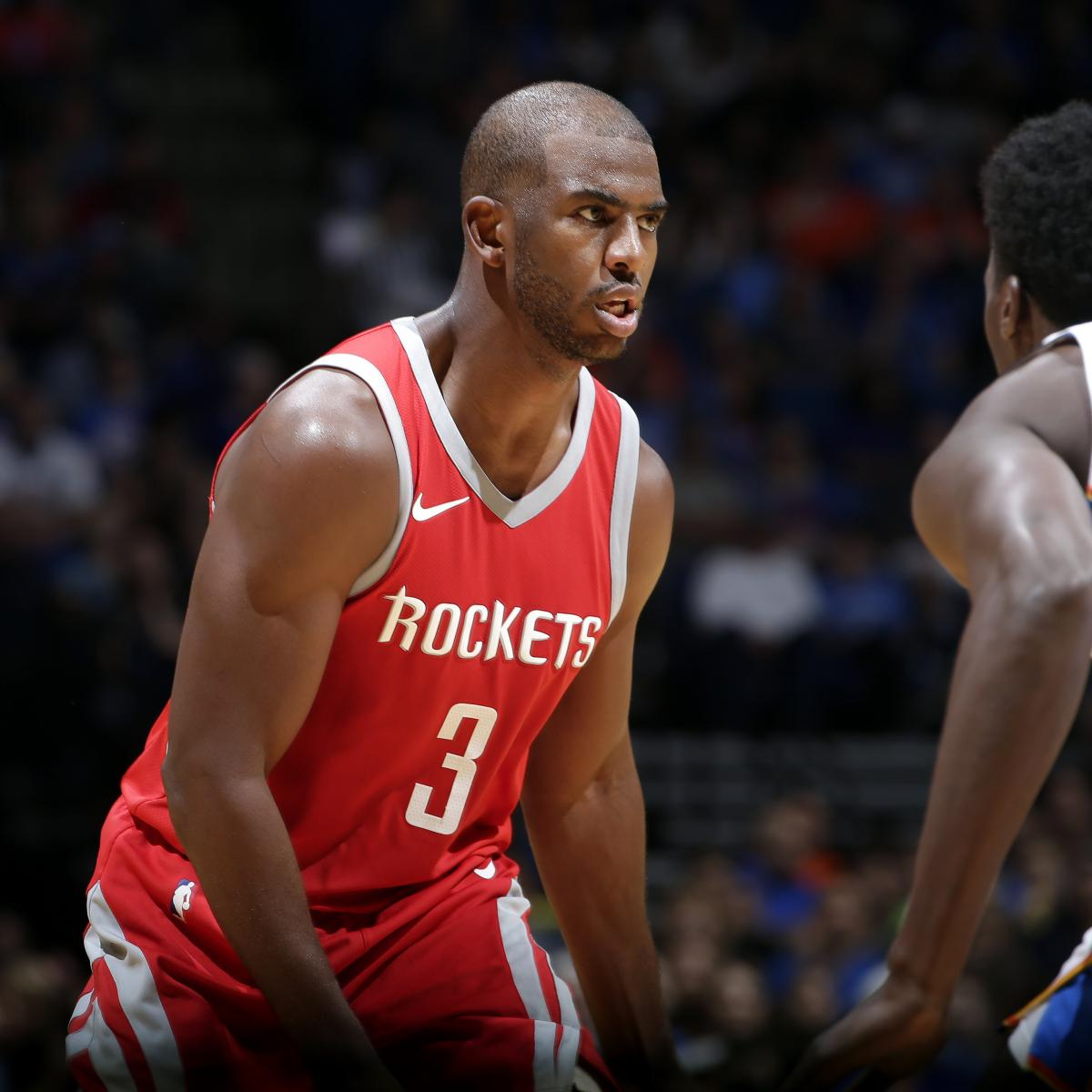 Rockets Vs Warriors Head To Head This Season: Chris Paul Suffers Knee Injury Vs. Warriors