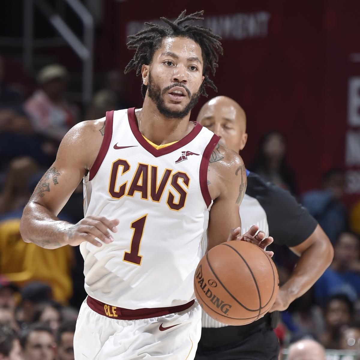 Derrick Rose 'Fine' with Cavs Salary, Says He'll Make ...