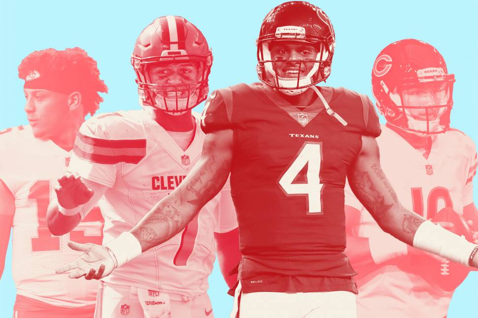 85e3dc19537 The Neverending Heat-Check of a Rookie QB | Bleacher Report | Latest ...