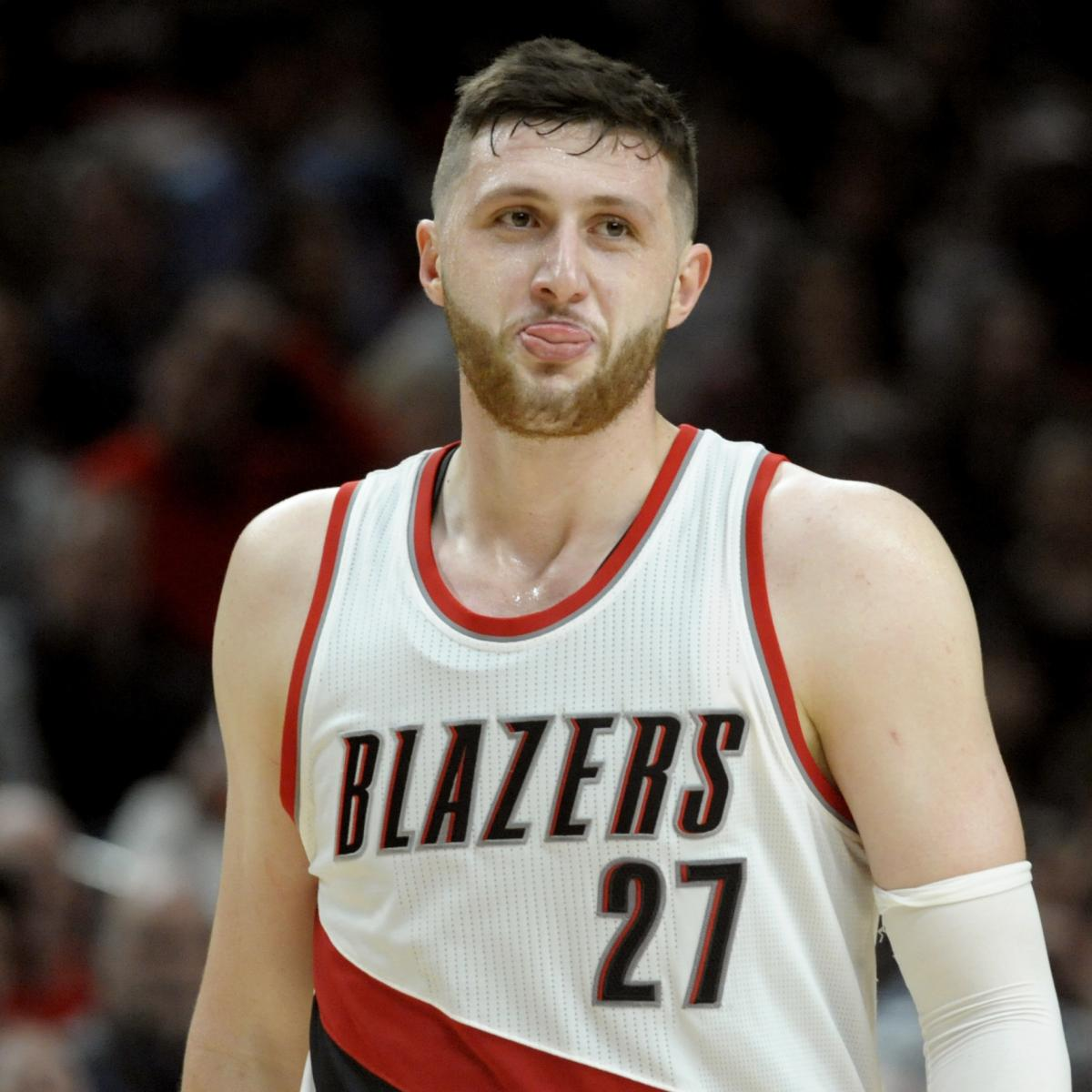 Portland Blazers Number 8: Jusuf Nurkic Reportedly Plans For Free Agency; No Blazers