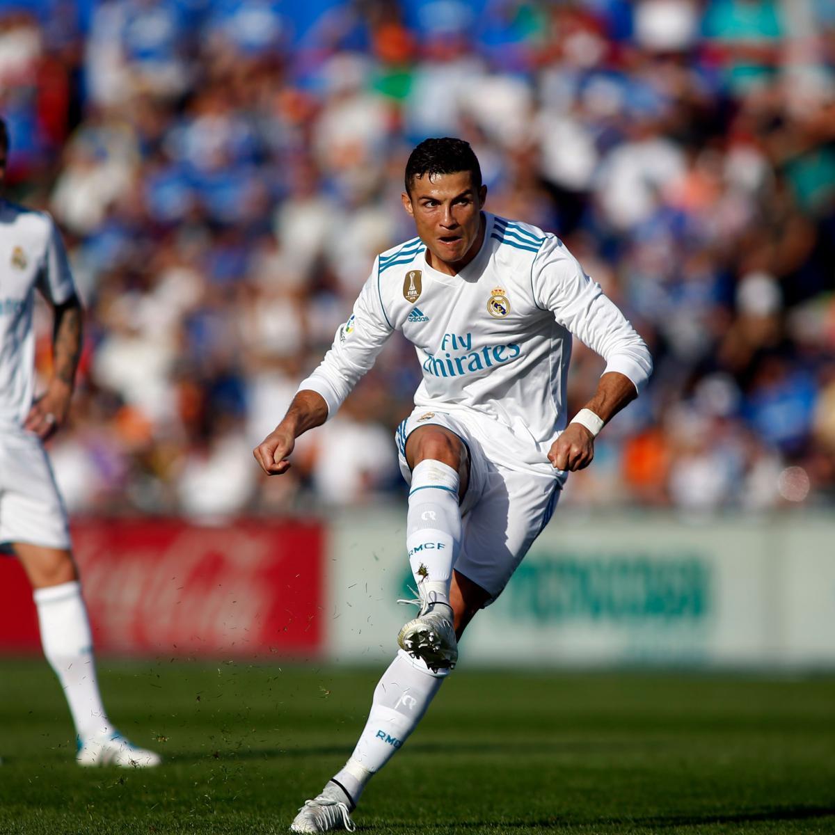 Cristiano Ronaldo S 4 Goals Lead Real Madrid To Win Vs: Cristiano Ronaldo's Late Goal Secures Win For Real Madrid