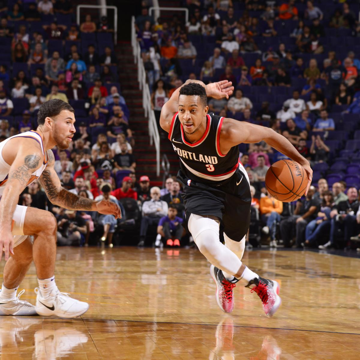 CJ McCollum Suspended 1 Game For Leaving Bench In
