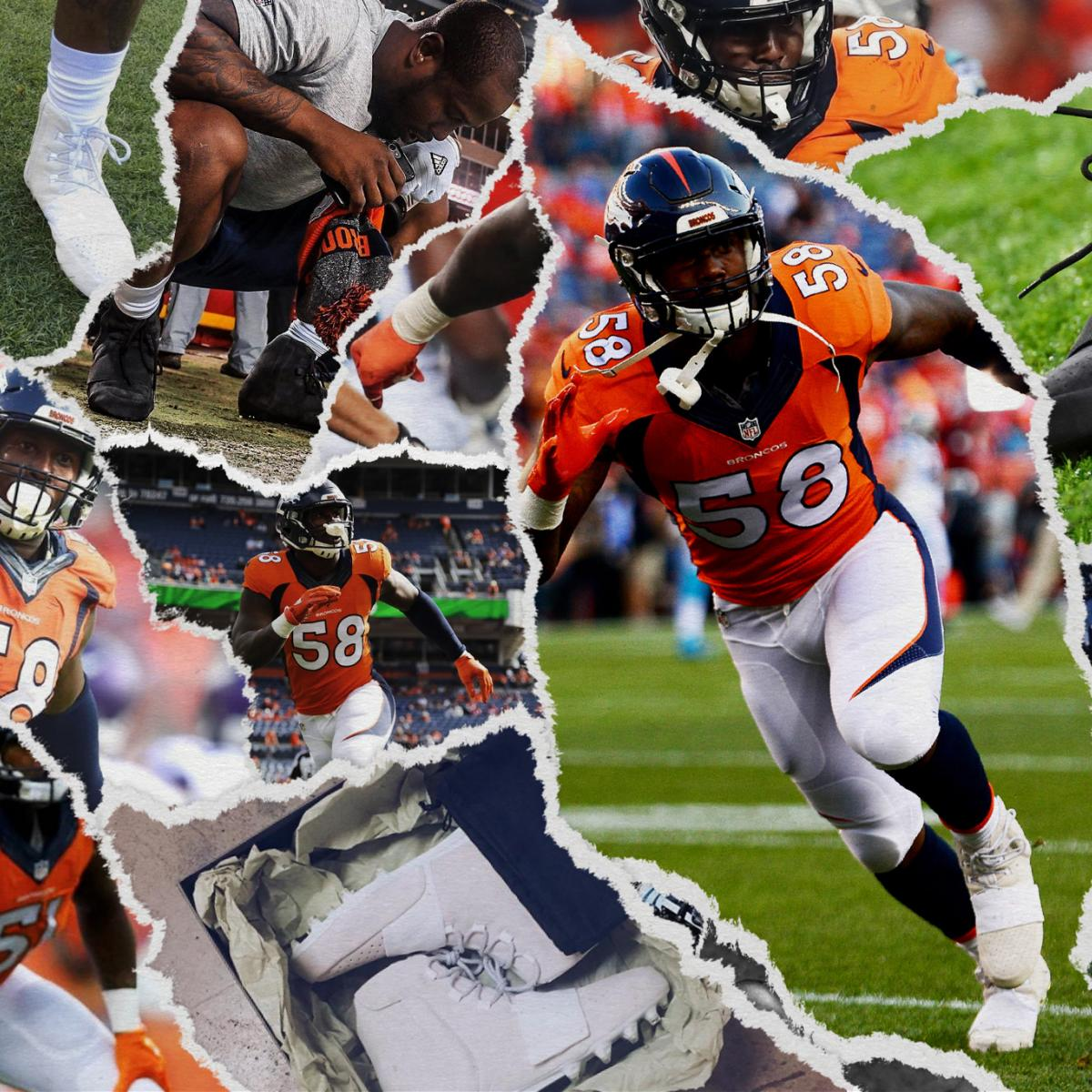 af42e2284be7c Von Miller  The Man Who Brought Yeezys to NFL