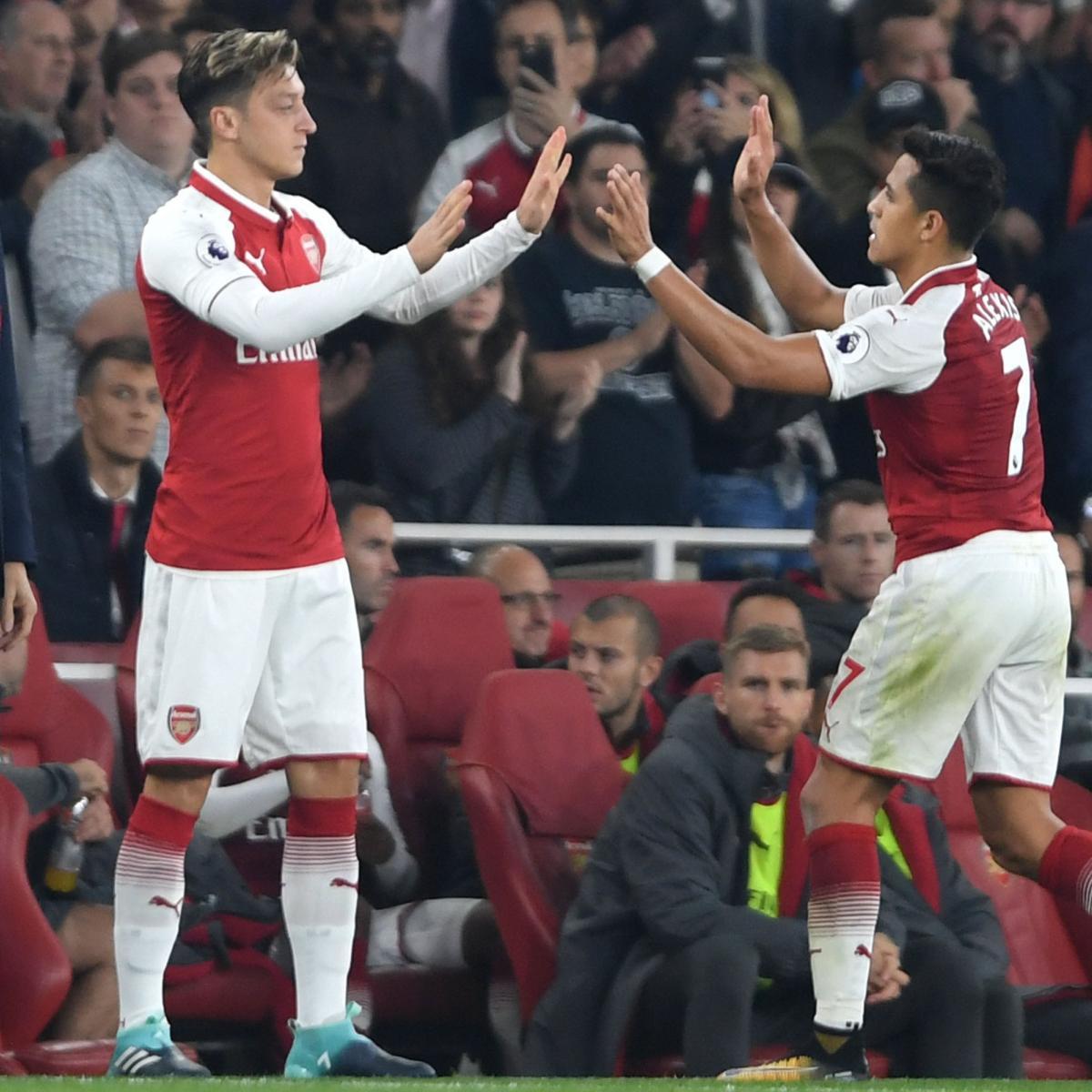 Manchester United Transfer News Alexis Sanchez Rumours: Arsenal Transfer News: Alexis Sanchez, Mesut Ozil Futures
