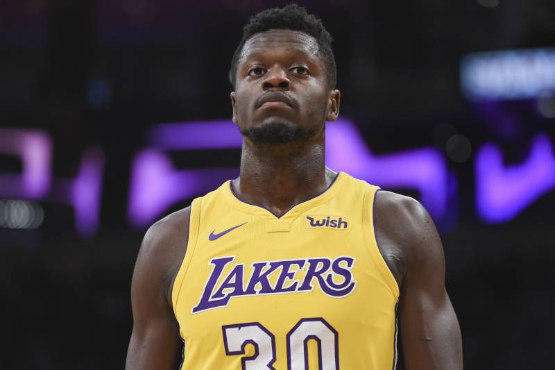 superior quality 39d46 4f881 Lakers Rumors: Julius Randle, LA Not Expected to Agree on ...