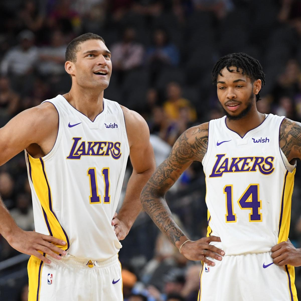 Lakers World16: Lakers News: Latest On Andrew Bogut, Brook Lopez Comments