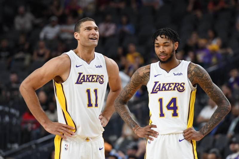 on sale a111c ad7b4 Lakers News: Latest on Andrew Bogut, Brook Lopez Comments ...