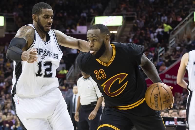 1bae56feeaed LaMarcus Aldridge Extension Likely Takes Spurs Out of LeBron James ...