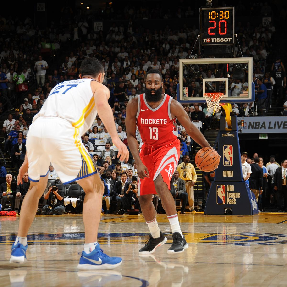 James Harden Injury Report: James Harden, Rockets Rally To Beat Warriors; Kevin Durant