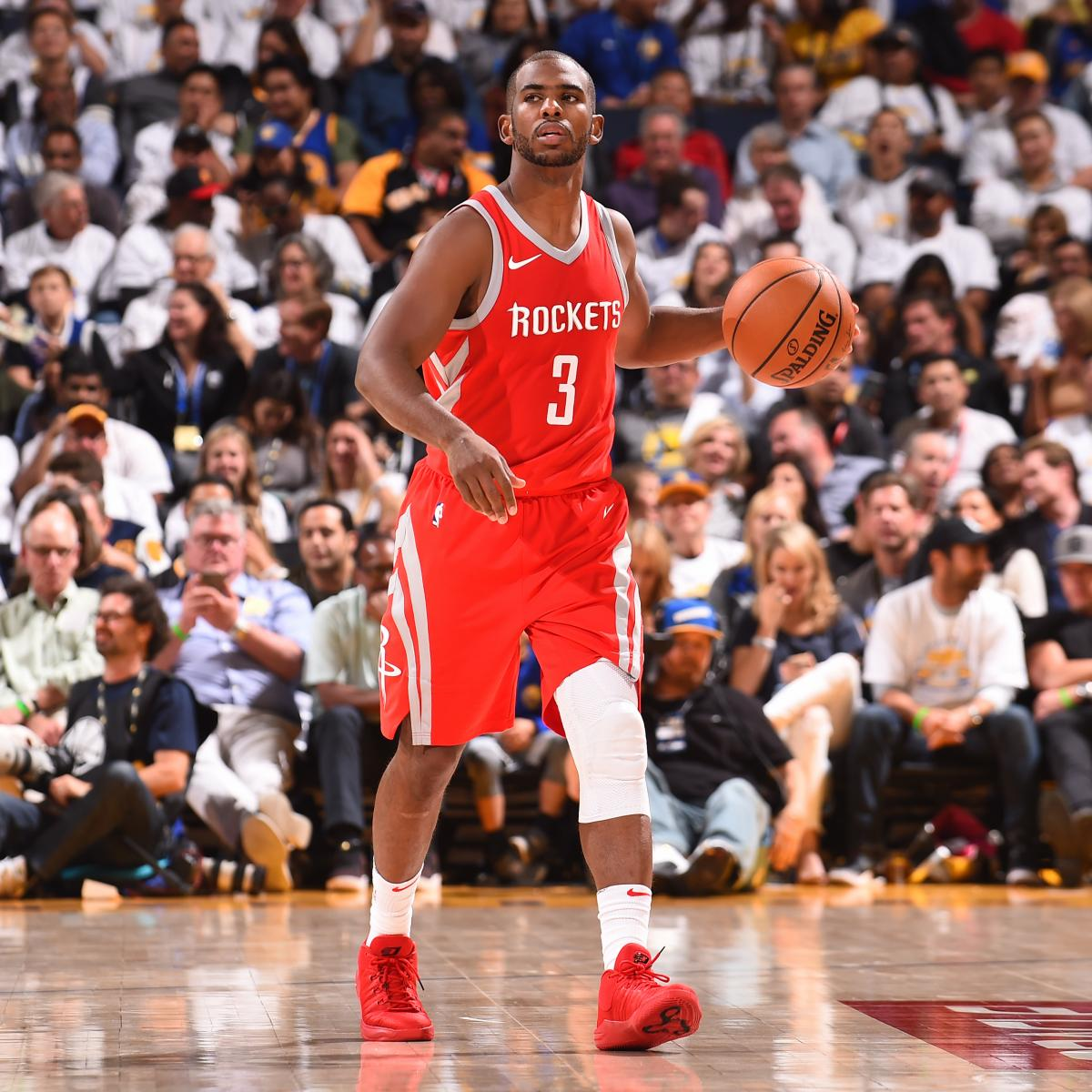 Rockets Vs Warriors Head To Head This Season: Chris Paul Will Not Play Vs. Kings After Injuring Knee