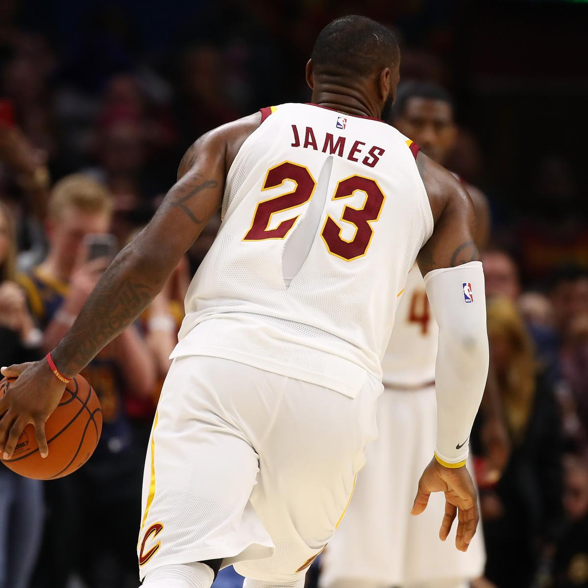 29d39732e17a Nike Reportedly Investigating Why LeBron James  Jersey Tore vs. Celtics