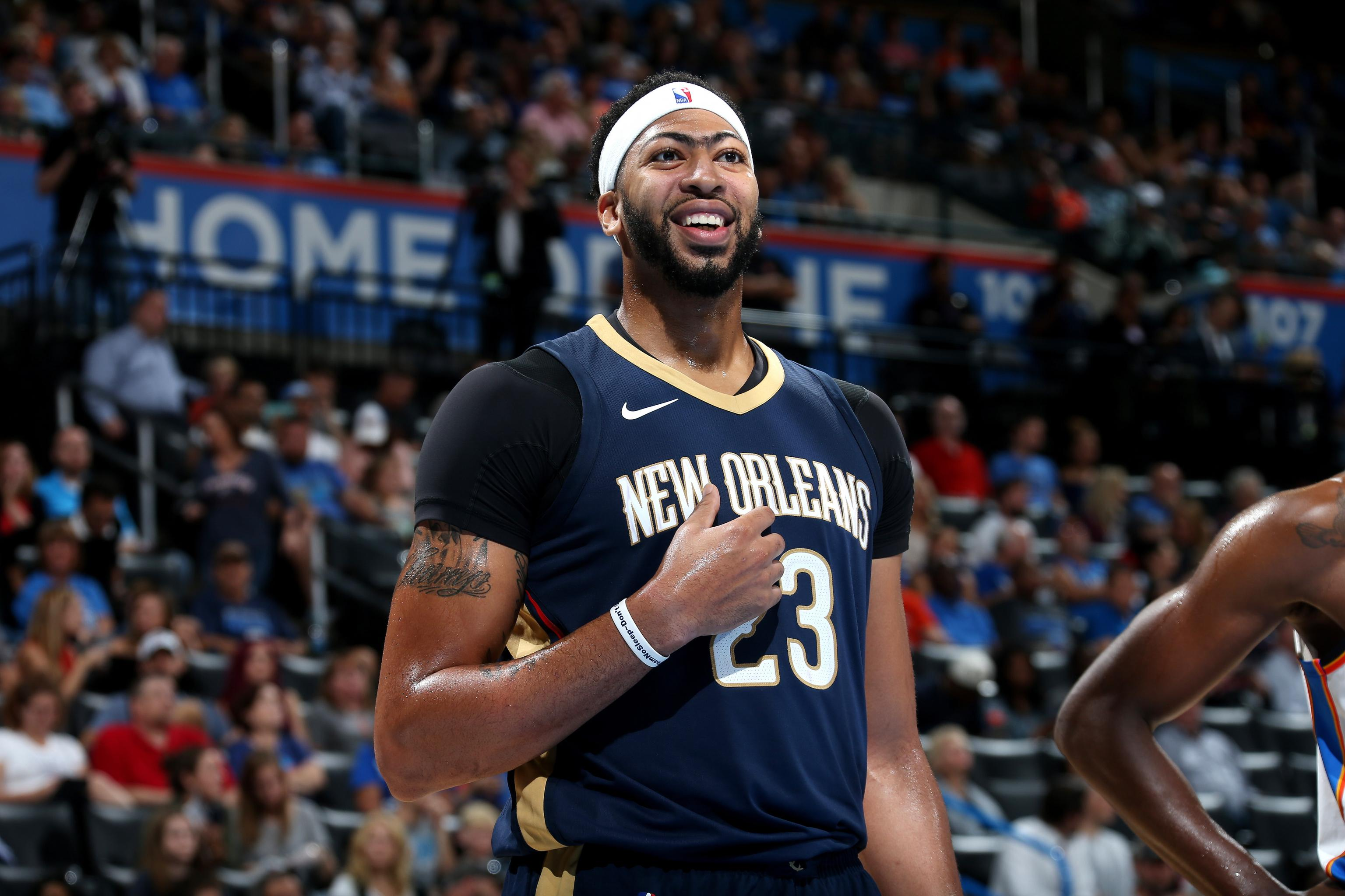 Anthony Davis Nike Reportedly Agree To New Endorsement